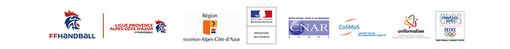 Partenaires 2018 de Handball Formation Méditerranée